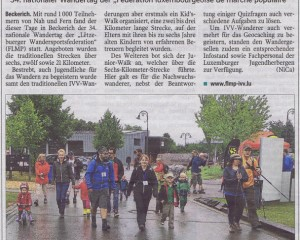 Geocaching, Kid's walk und Junior-walk (Luxemburger Wort)