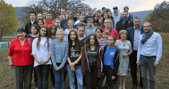 Group photo of our Polish visitors