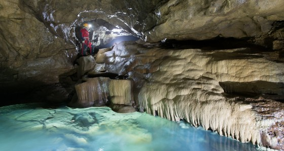 Ocizla is well-known for the Škocjan Caves Park. (Copyright: Sandro Sedran S-Team)