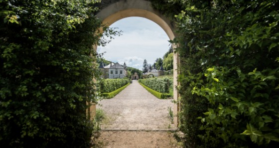 The gardens of the castle of Ansembourg were laid out in 1750. © Jonathan Godin / LFT