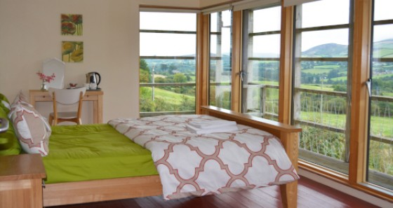 Knockree youth hostel boasts varied accommodation.