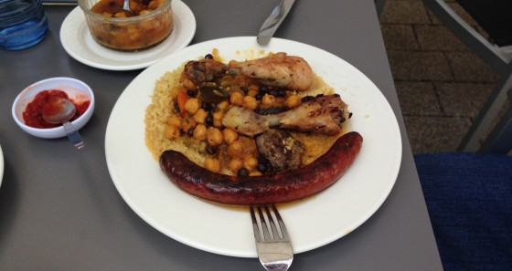 Jugendherberge Luxemburg couscous 2